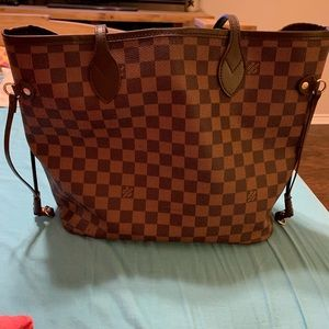 Brown and Tan Purse